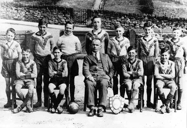 Fritchley Scholl football team 1933