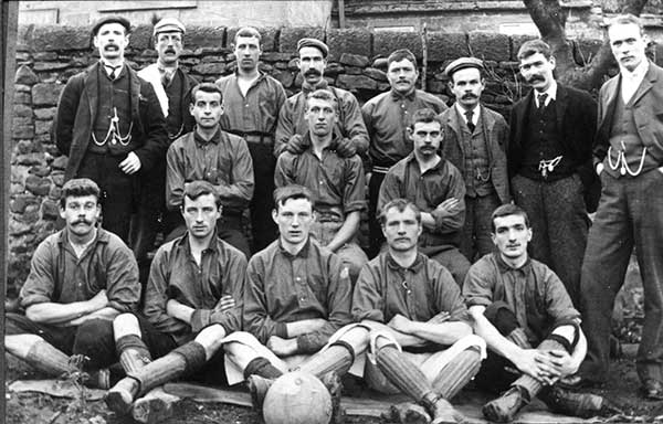 Fritchley Football team 1896