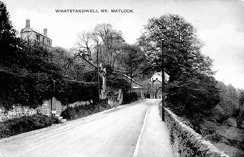View up main Road, Whatstandwell