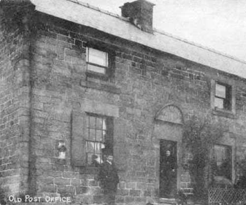 The first Whatstandwell post office