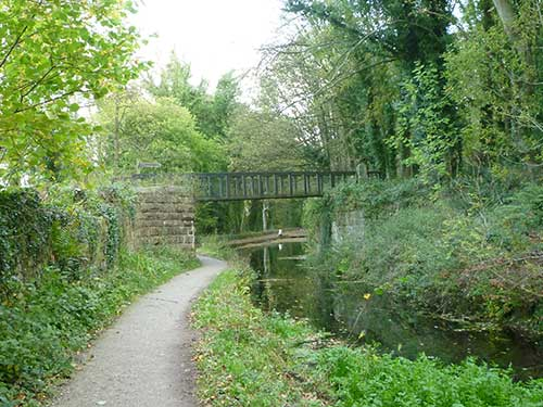 Sims bridge over Cromford Canal