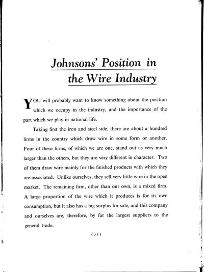 Wireworks history book 1947