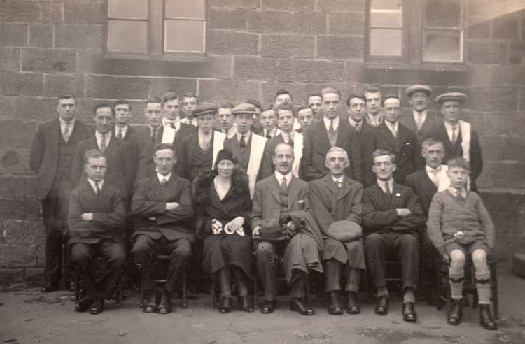 photo of Crich Ambulance Group 1932