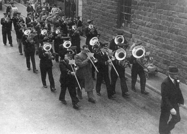 Crich band 1950s