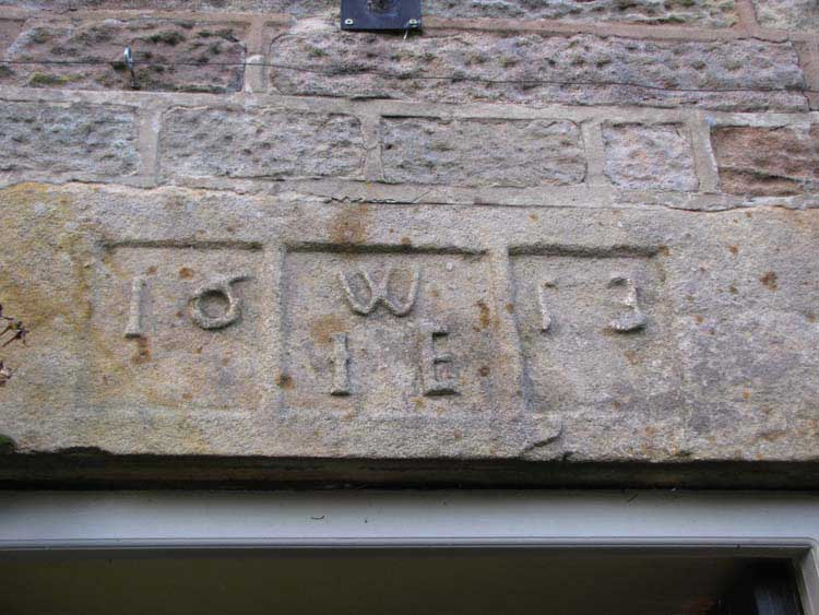 photo of Beech Farm datestone