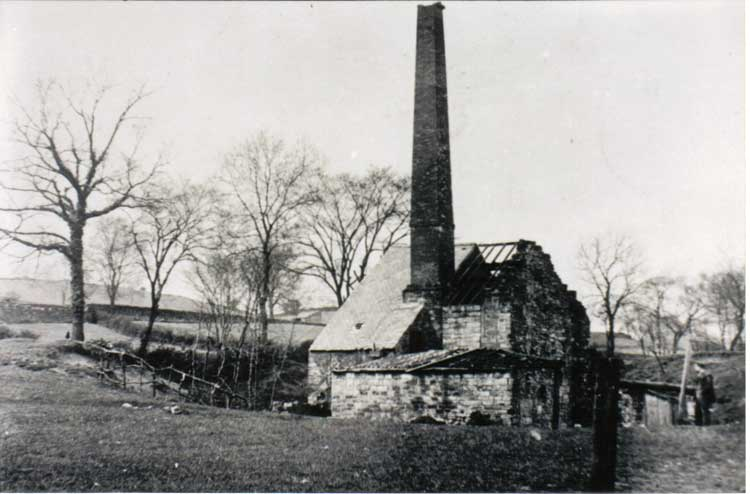 Bobbin Mill after the fire