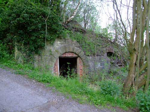 lime kilns at Bullbridge