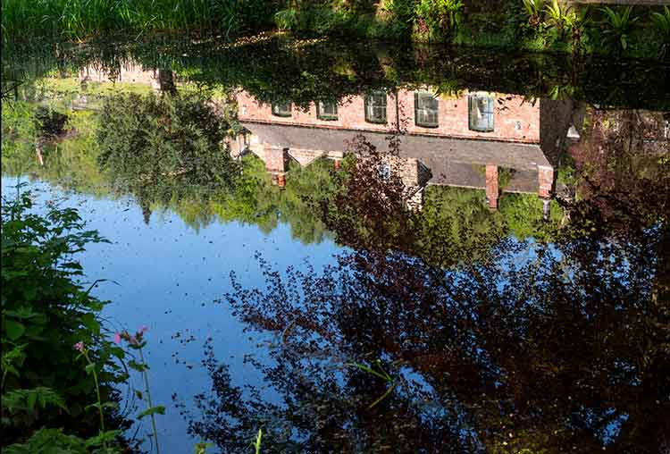 reflections on cromford Canal
