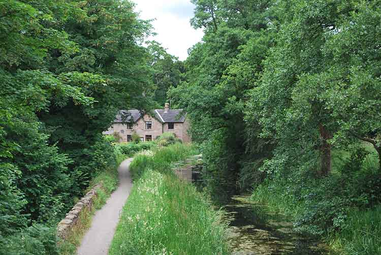 Towpath on Cromford Canal