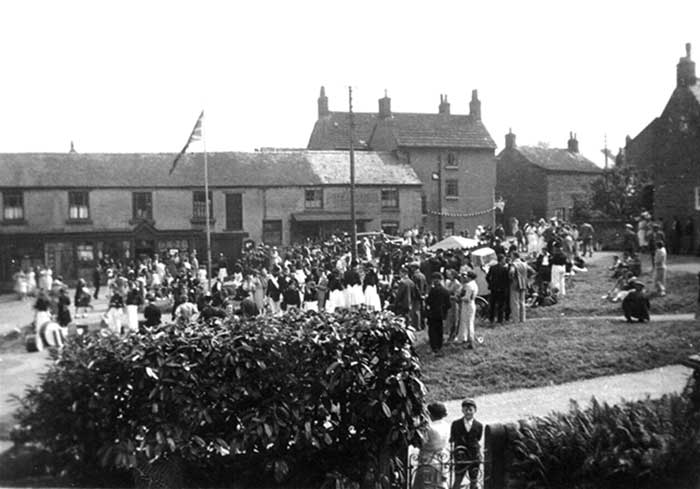 Fritchley Carnival 1930s