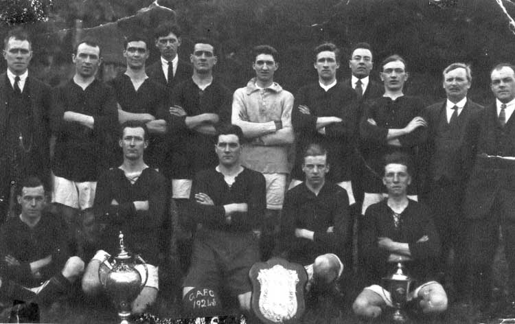 Crich Athletic Football team 1924