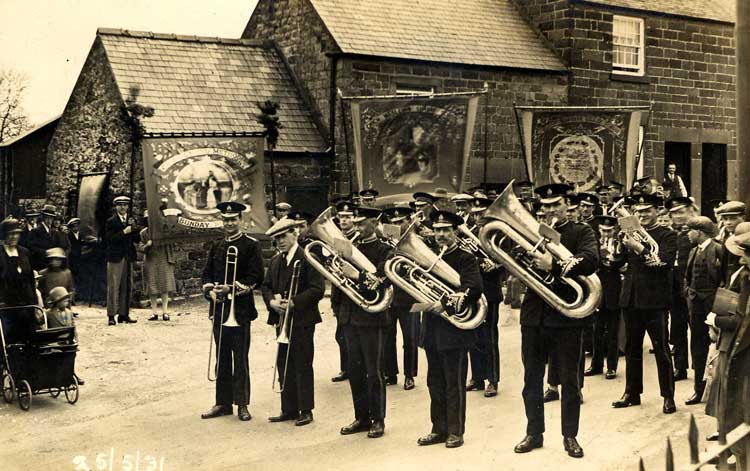 Crich Band in 1931