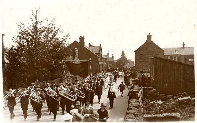 Crich Band on the Common