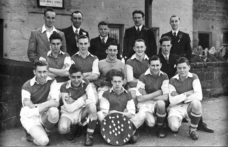 Crich boys football team 1949