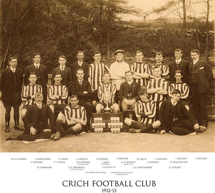 Crich Football Club 1912