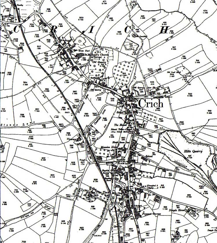 crich map of 1899