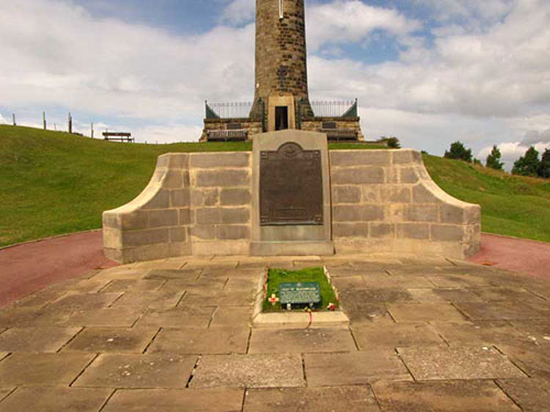 memorial at Crich Stand