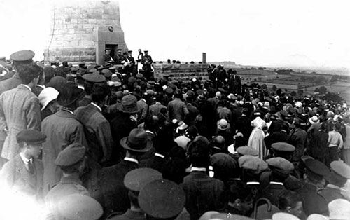 opening of Crich Stand 1923