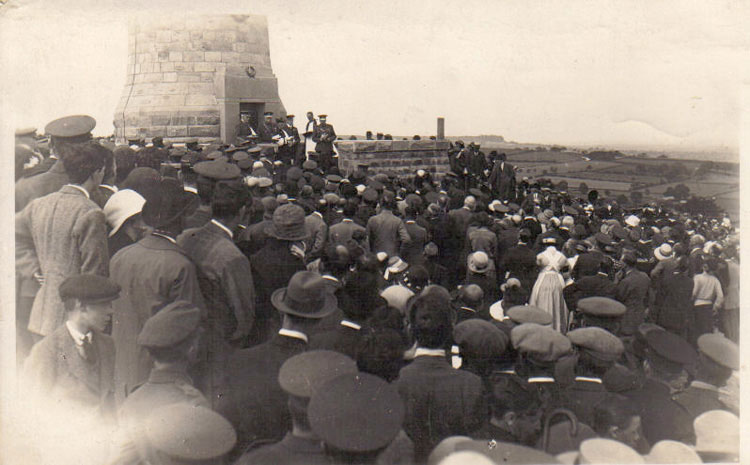 photo of opening of Crich Stand