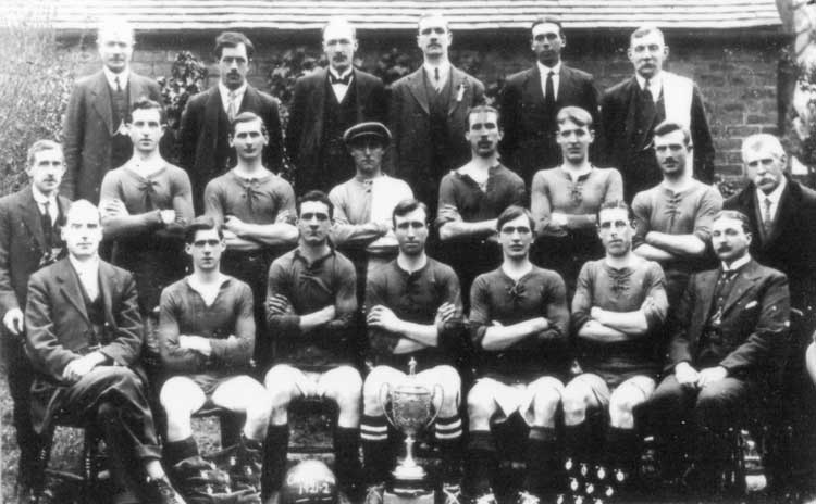 Crich Town football club 1921