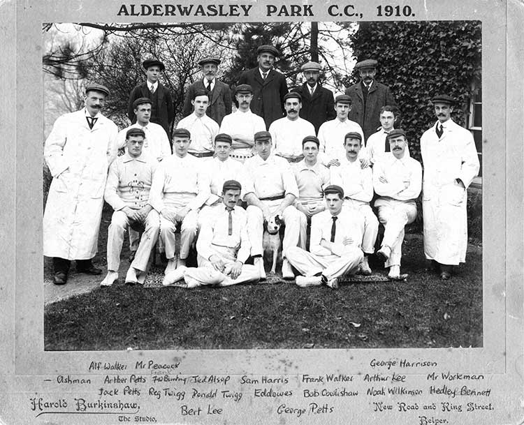 Alderwasley Park Cricket Team
