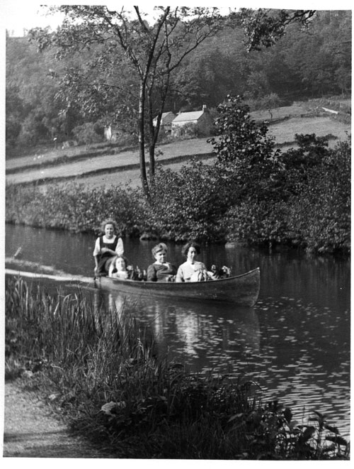 Canoe on Cromford Canal
