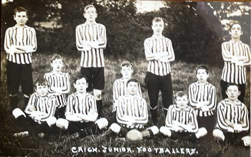 Crich Juniors Footballers