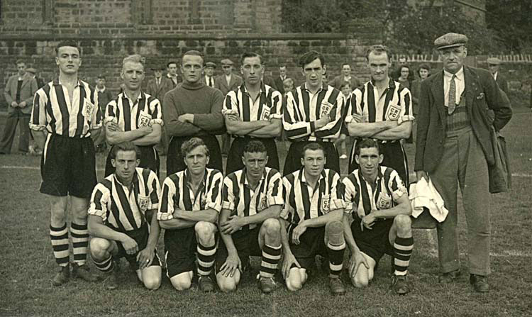 photo of Crich Rangers 1949
