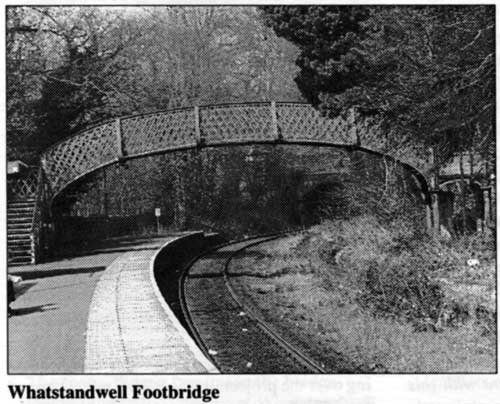 Footbridge at Whatstandwell