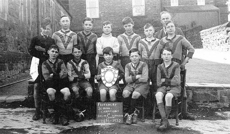 Fritchley School Football Team 1931