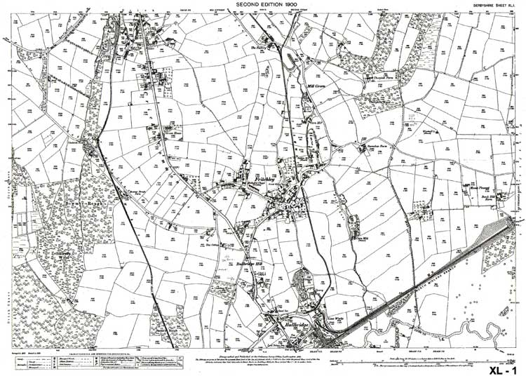 fritchley map 1899
