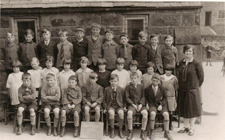 Fritchley pupils 1928