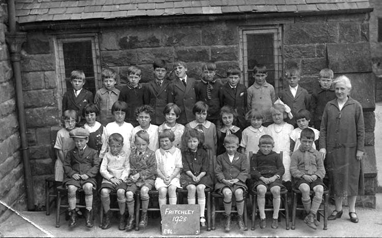 Fritchley school in 1928