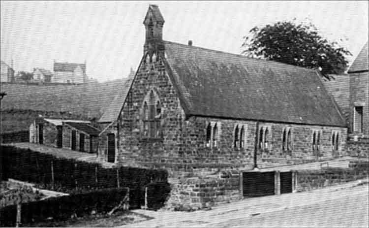 Photo of original Fritchley School