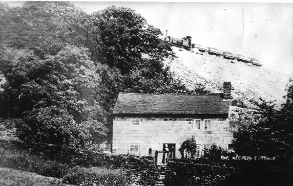 Gamekeepers cottage at Crich
