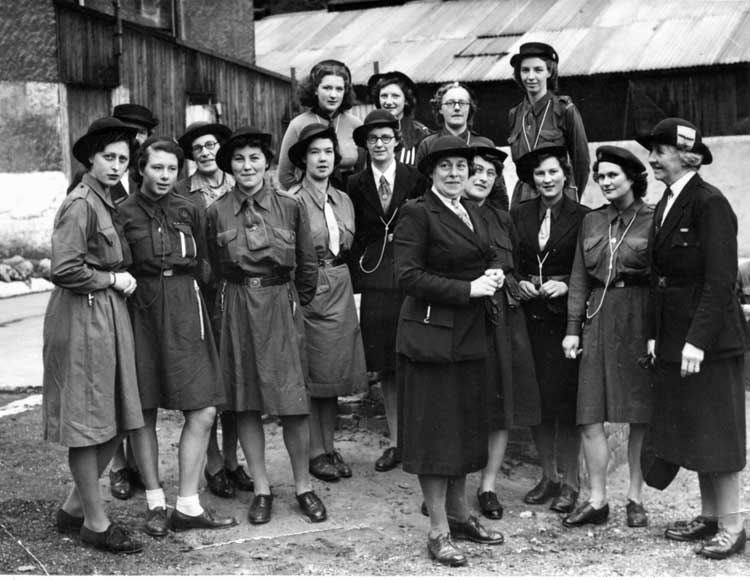 Crich guides in 1946