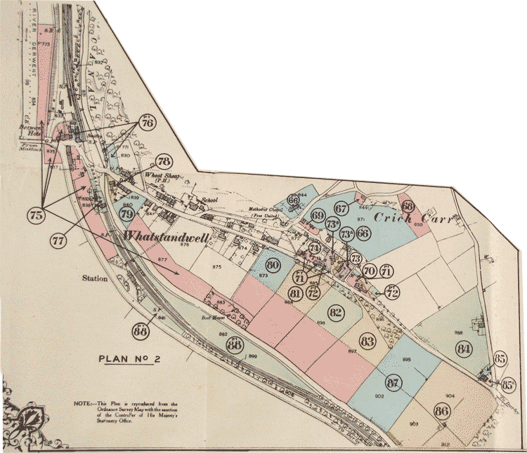 Hurst sale map of 1920