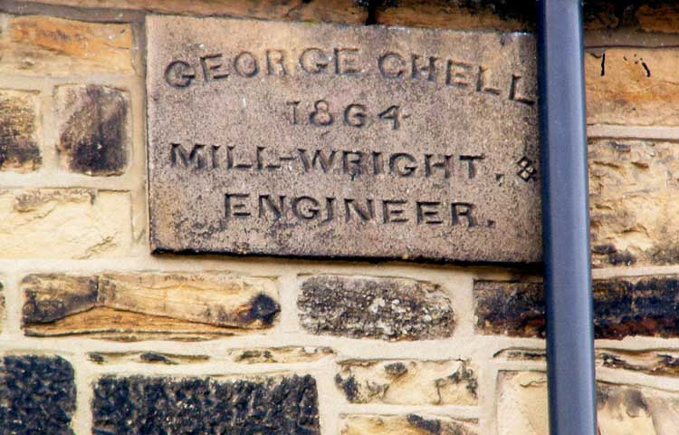 Plaque to George Chell