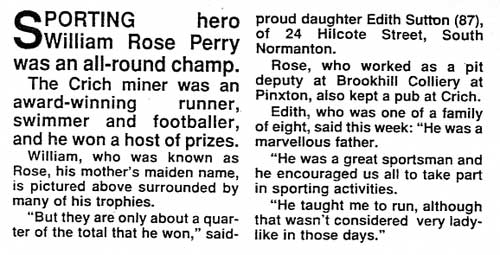 Article about William Perry