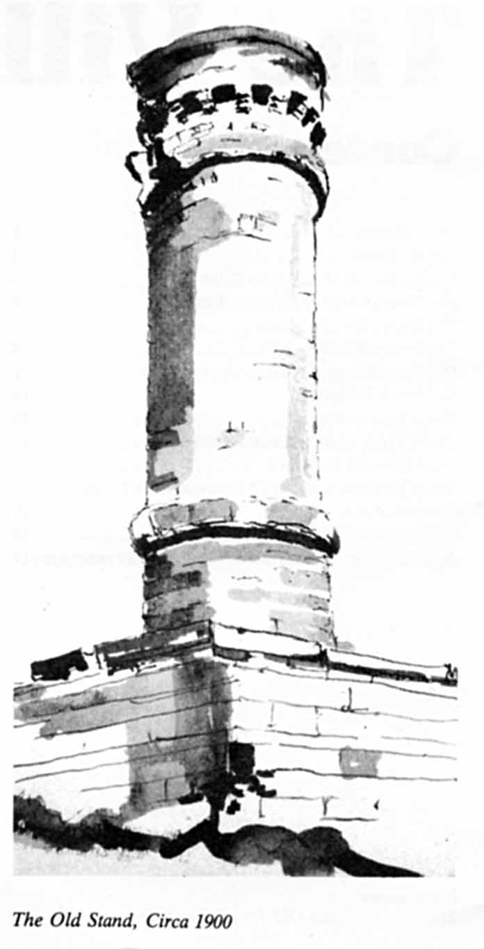 drawing of Crich Stand
