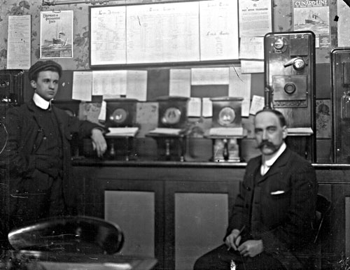 photo of telegraph office