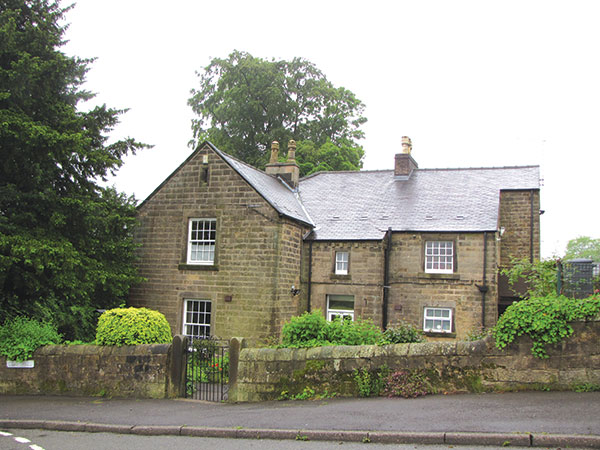 Second Second Crich vicarage