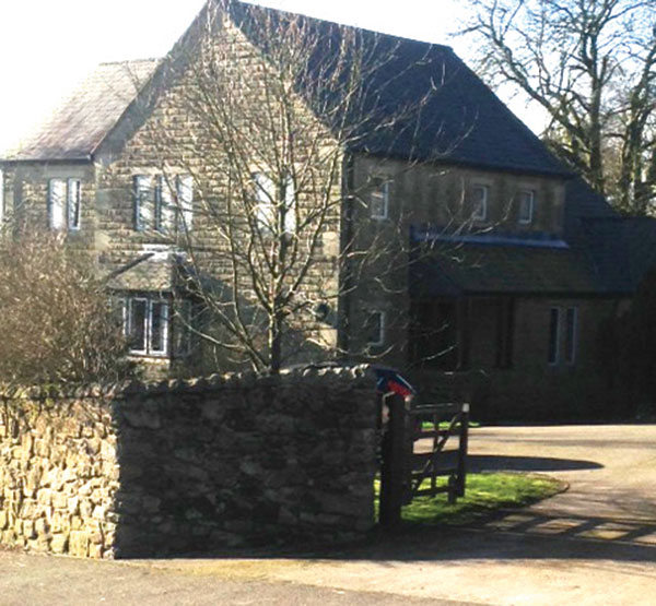 the current Crich vicarage