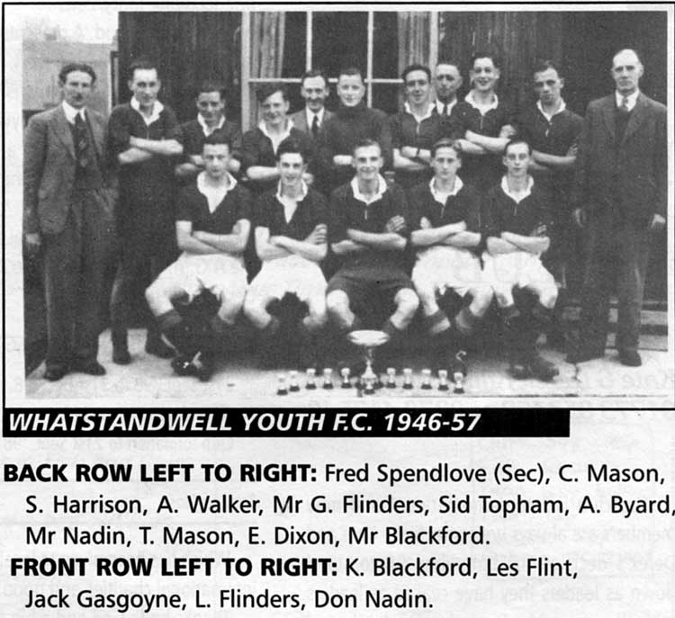 Whatstandwell Football team 1946