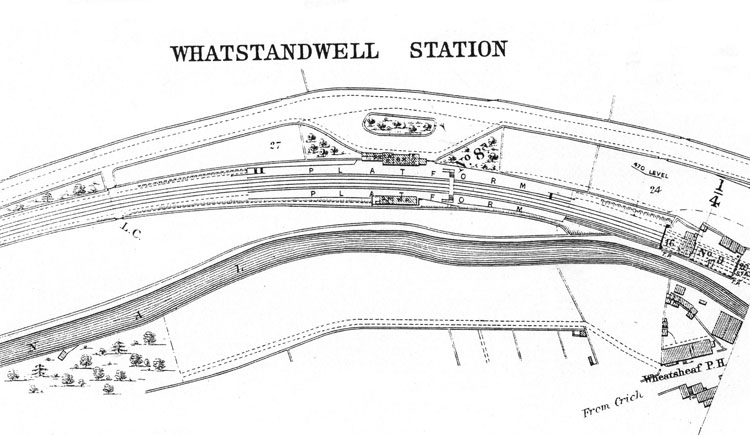 map of station 1900