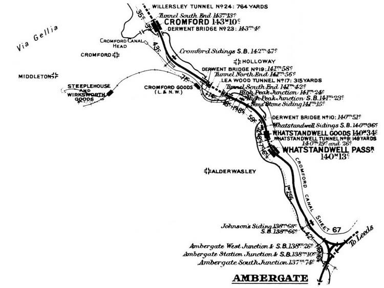map of station 1913