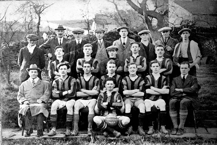 wheatcroft football team 1922