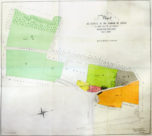 Sale map of1892