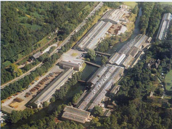 Ariel view of the Wireworks